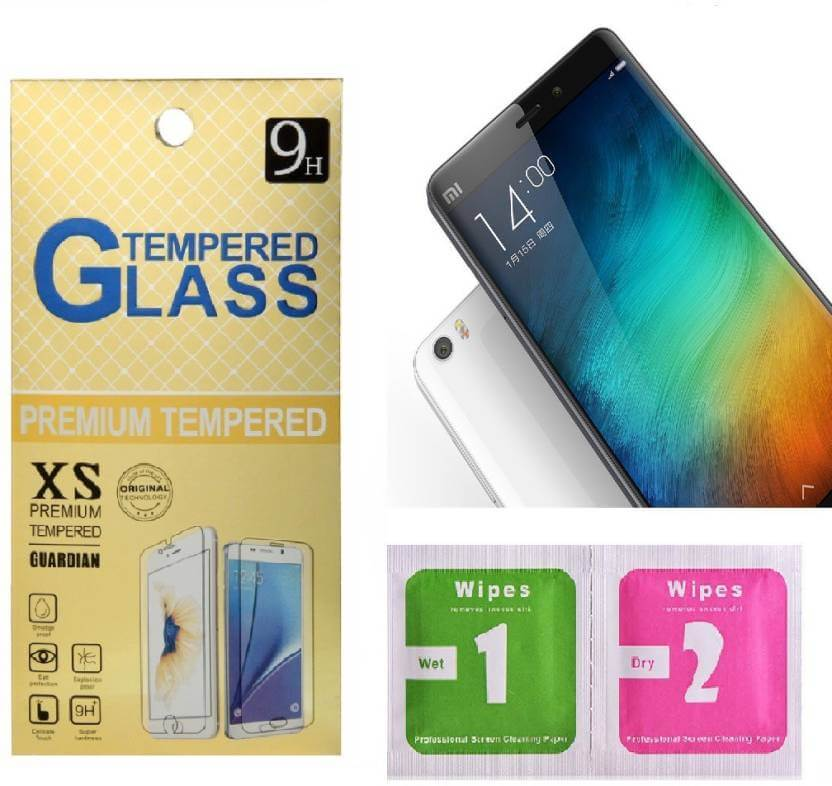 Nutricase Tempered Glass Guard for Redmi 6