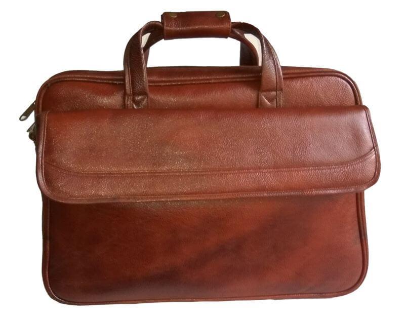 Right Choice Tan Color Laptop Messenger Bag