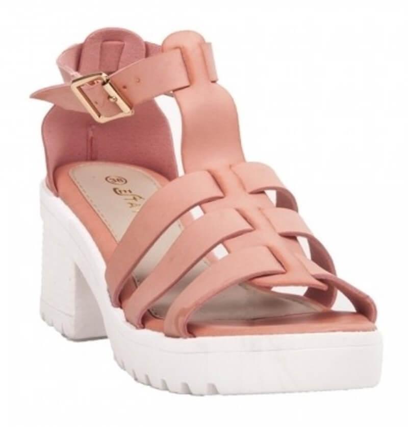 Estatos Brand Faux Leather Pu Women Sandal