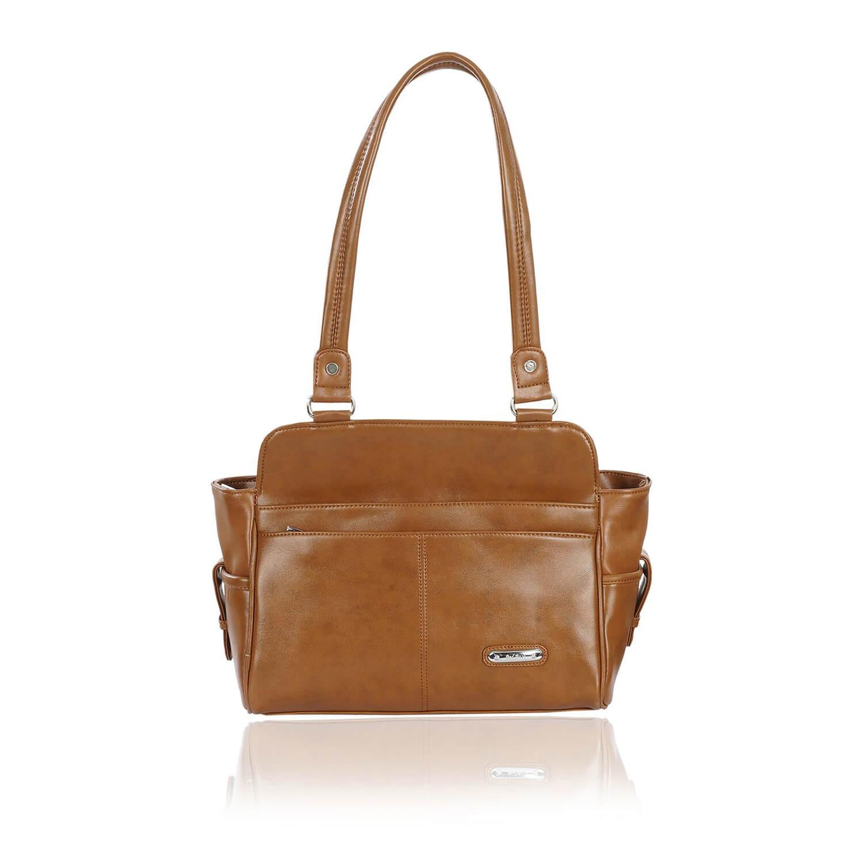 Right Choice RCH269 flashy designer women's handbags(Brown)
