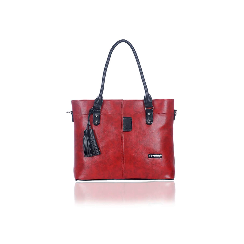 Right Choice RCH255 Stylish Fashionable Handbag (Red)