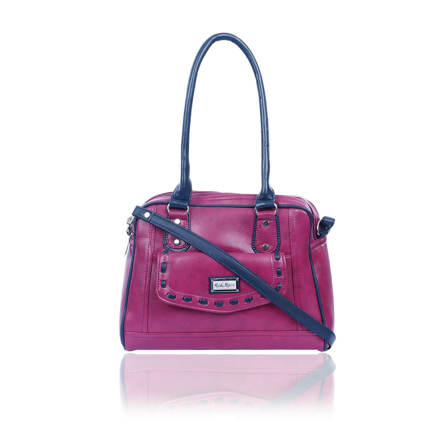Right Choice RCH280 Jessy stylish fashionable bags(Dark Pink)