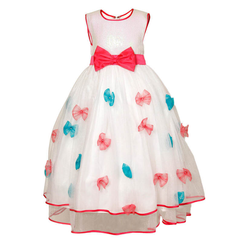 Satin Girls Kids Dress