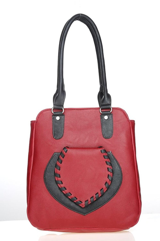 LADY QUEEN Multi Faux Leather Shoulder Bag LD  - 381