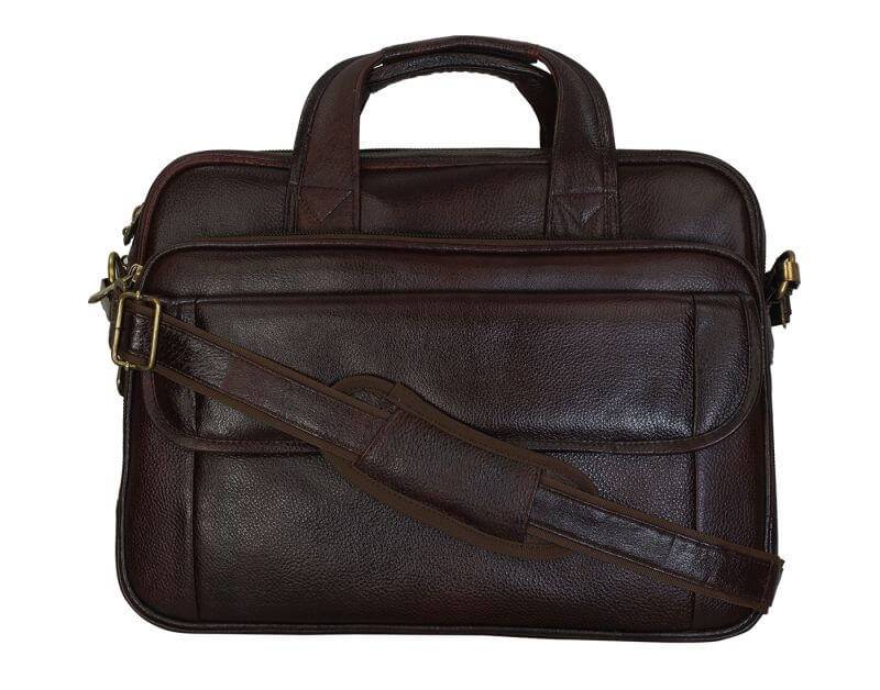 Right Choice Brown Color Laptop Messenger Bag