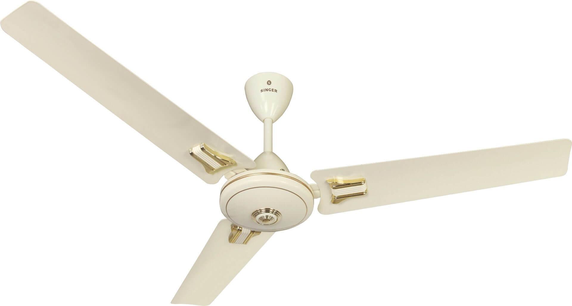 Singer Aerostar Premium Ceiling Fan Ivory