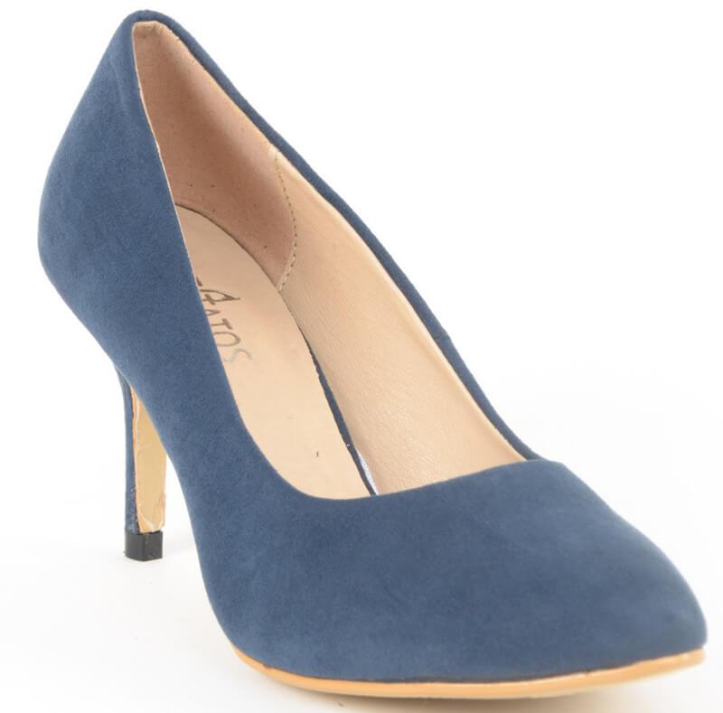 Estatos Brand Suede Pu Women Heel