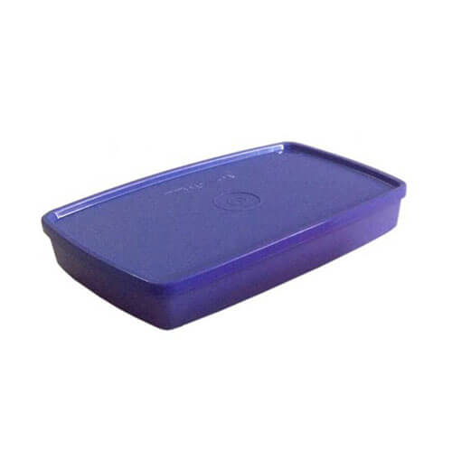 Tupperware - 600 ml Plastic Food Storage Blue