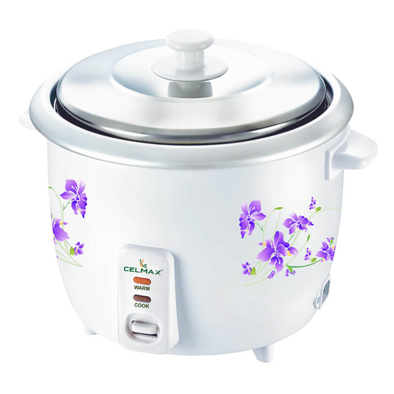 Celmax 350 Watt electric rice cooker 2.8 ltr