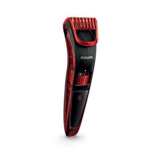 Philips QT4006 Trimmer For Men Black & Red