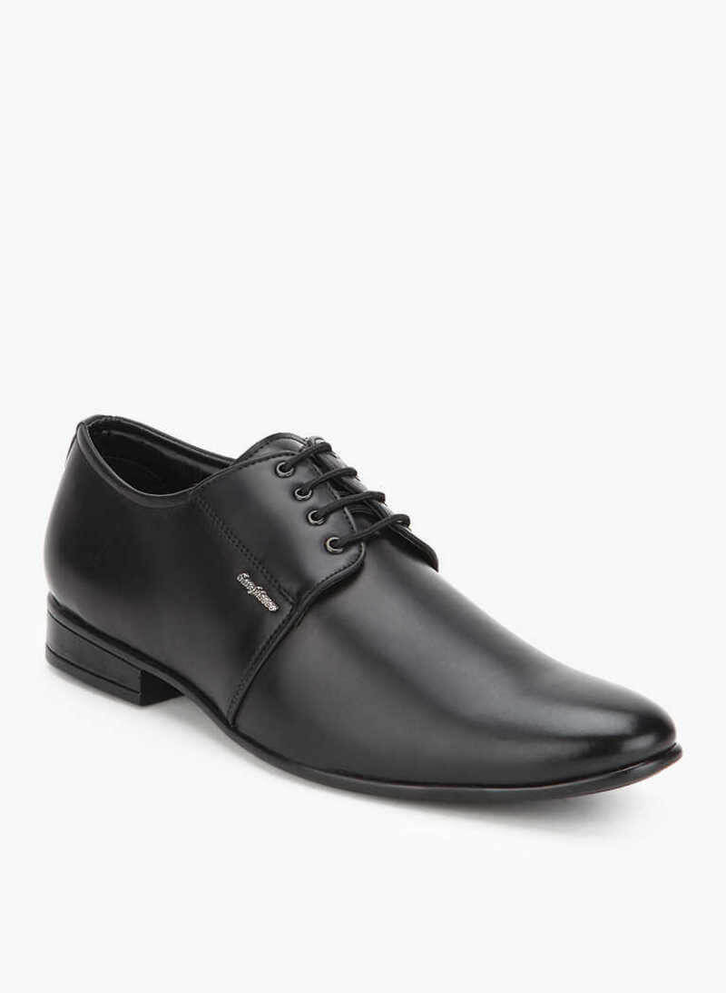 San Frissco Brand Synthetic Pu Men Lace Up Formal Shoes