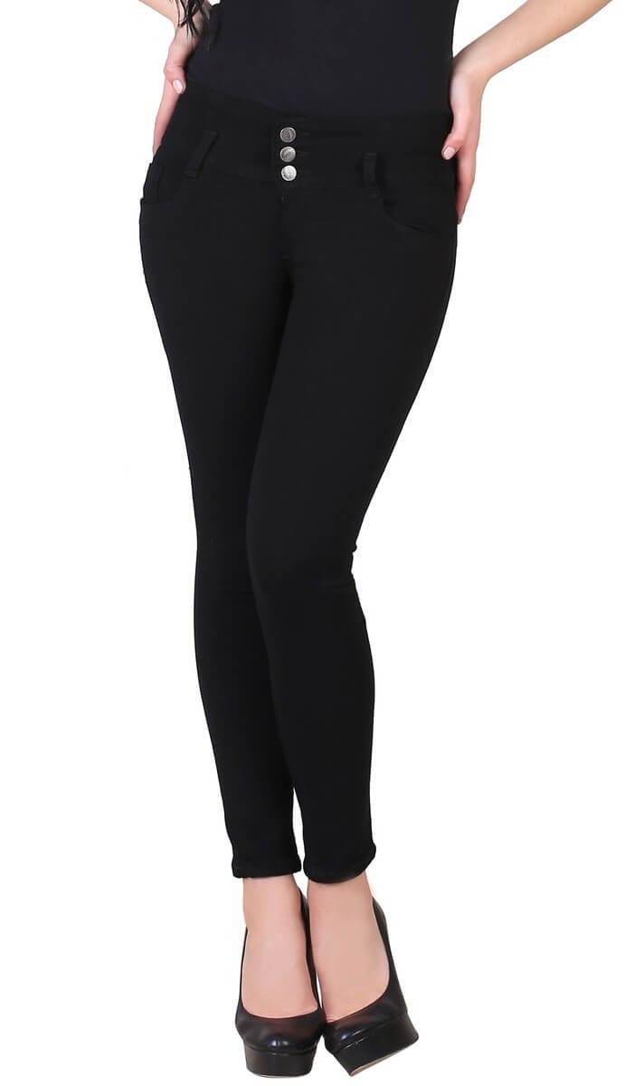 Solid Slim Fit Women Jeans