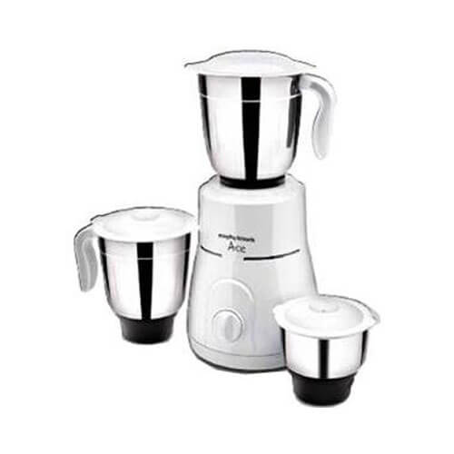 Morphy Richards Ace Plus 750 W Mixer Grinder (White/3 Jars