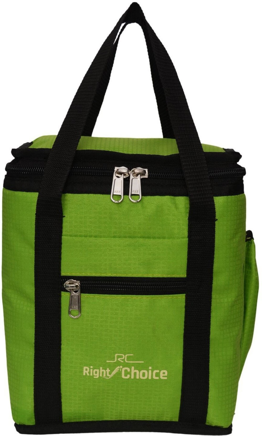 Right Choice Lunch Bag  (Light Green, Green, 10 inch)