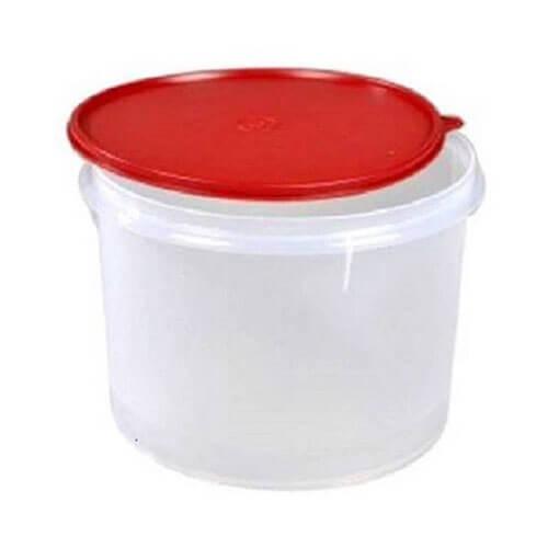 Tupperware - 5 L Plastic Food Storage  Maroon