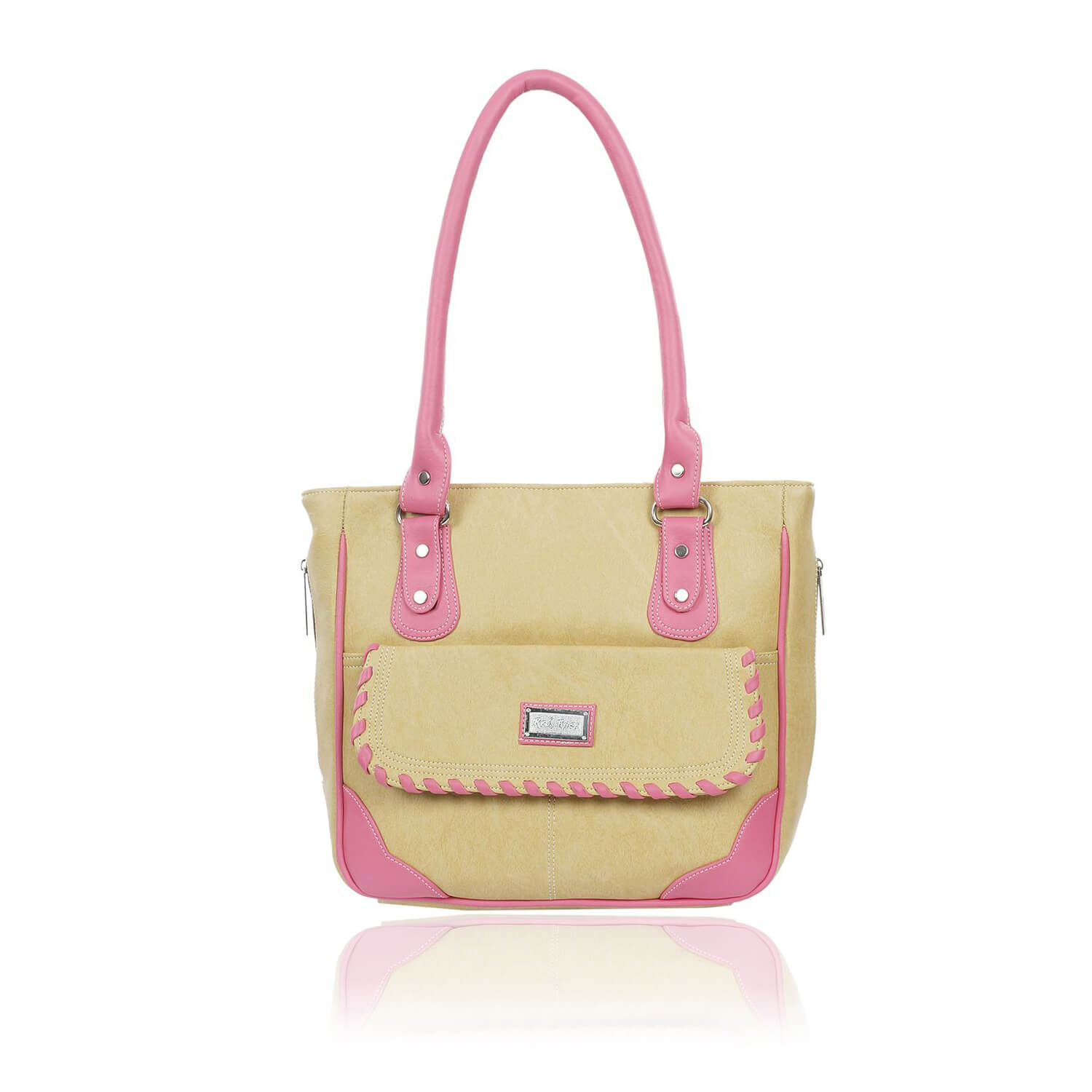 Right Choice RCH277 Yellow colour women's handbags  classic,smart bags