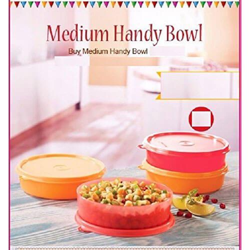 Tupperware Plastic Bowl Set, 300ml, Set of 4, Multicolour