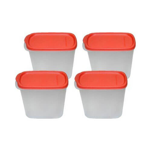 Tupperware New Smart Saver #2, 1.1 Litres, 4-Pieces