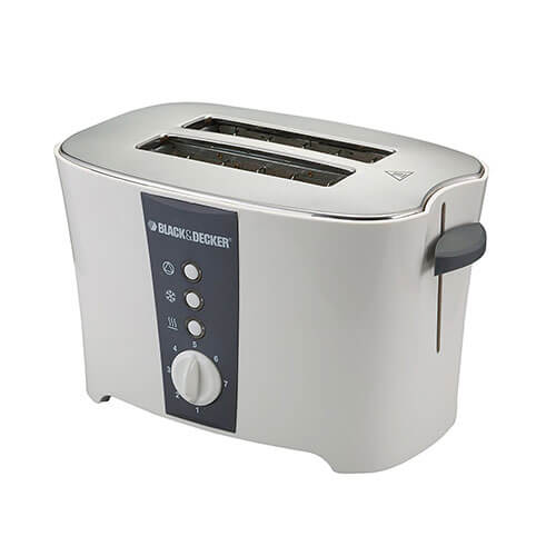 Black & Decker ET122 800-Watt 2-Slice Cooltouch Pop-up Toaster