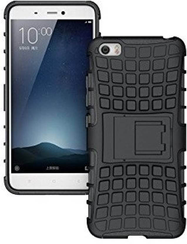 Nutricase Back Cover for Oppo F1s (Black, Shock Proof, Rubber)