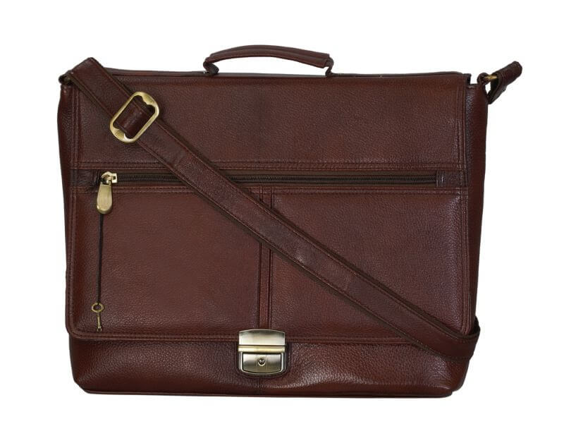 Right Choice Brown Color Messenger Bag