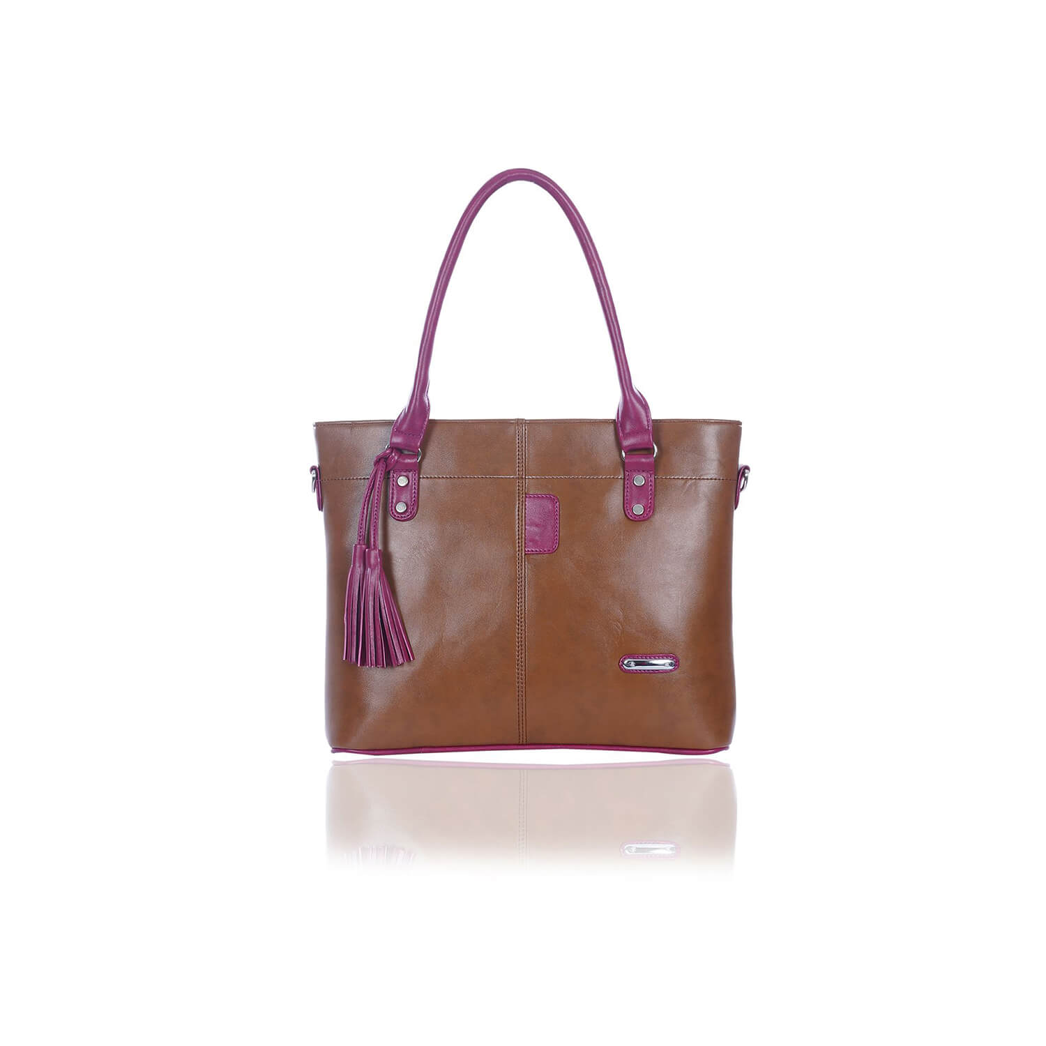 Right Choice RCH252 Dignified Sophisticated Brown Color Women's Handbag