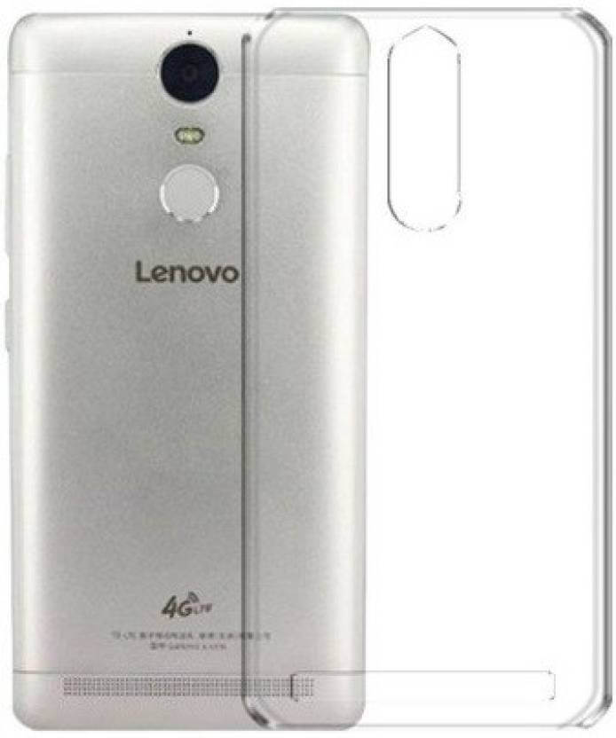 Nutricase Back Cover for Lenovo Vibe K5 Note (Transparent, Silicon)