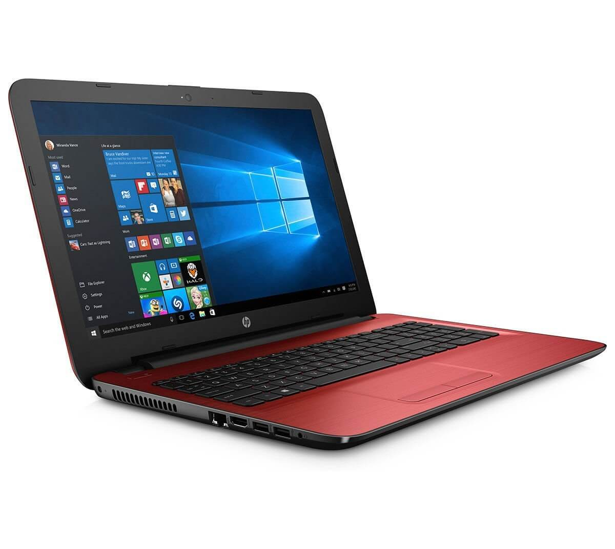 HP-NB-15-AY564TU-Intel Core i3-6006U (2 GHz, 3 MB cache)/4 GB DDR4 RAM/ 1 TB HDD/DOS Cardinal Red