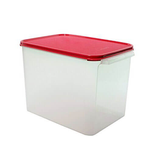 Tupperware Store It All Plastic Container, 12 Litres, White