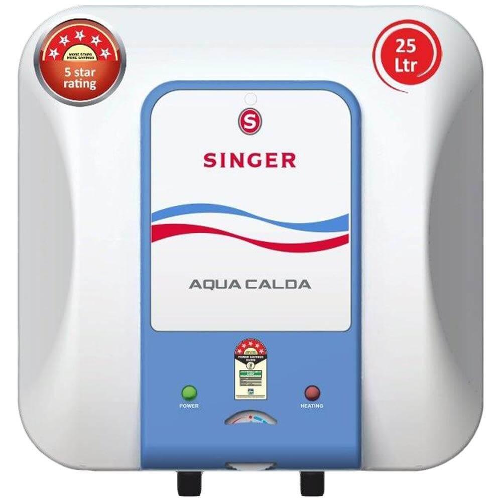 Singer Aqua Calda 25 L Glass Line Storage Water Heater