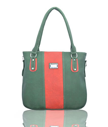 Lady Queen Green Shoulder Bag LD - 215