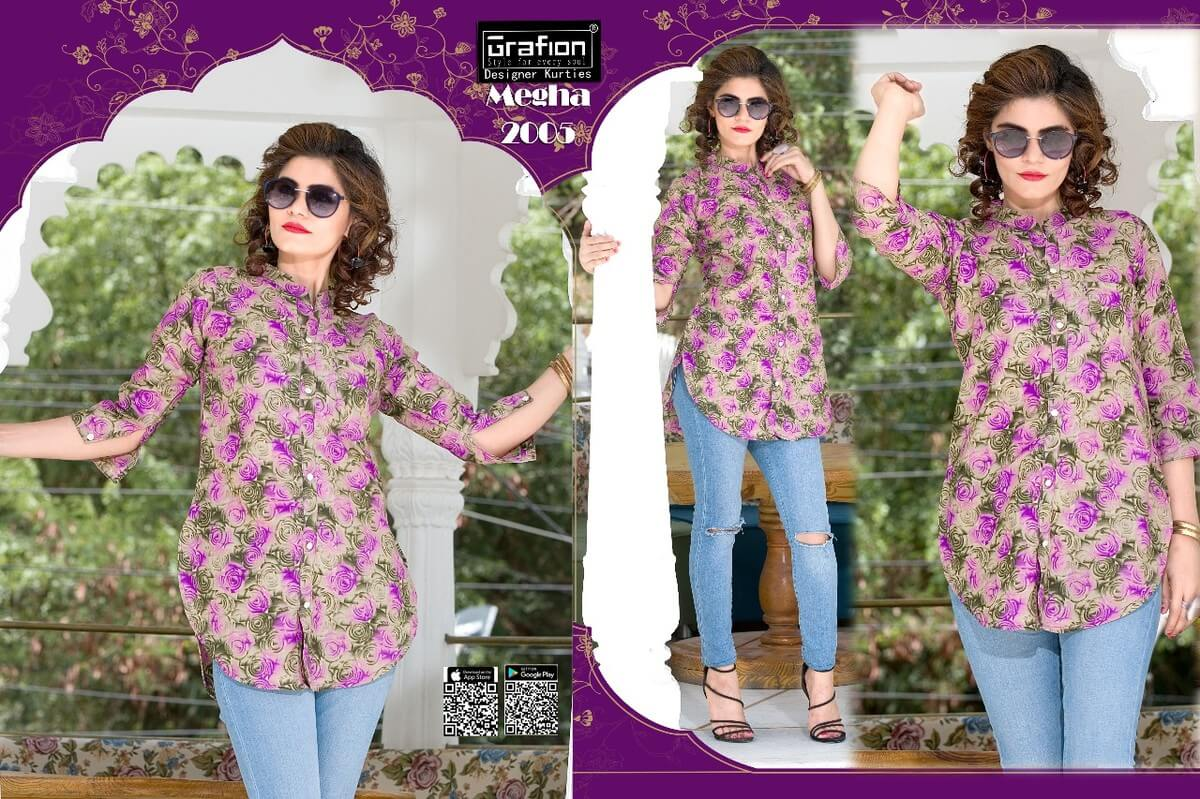 Megha By Grafion Cotton Top Catalog