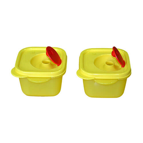 Tupperware CRYSTAL WAVE MINI SQUARE (SET OF 2)