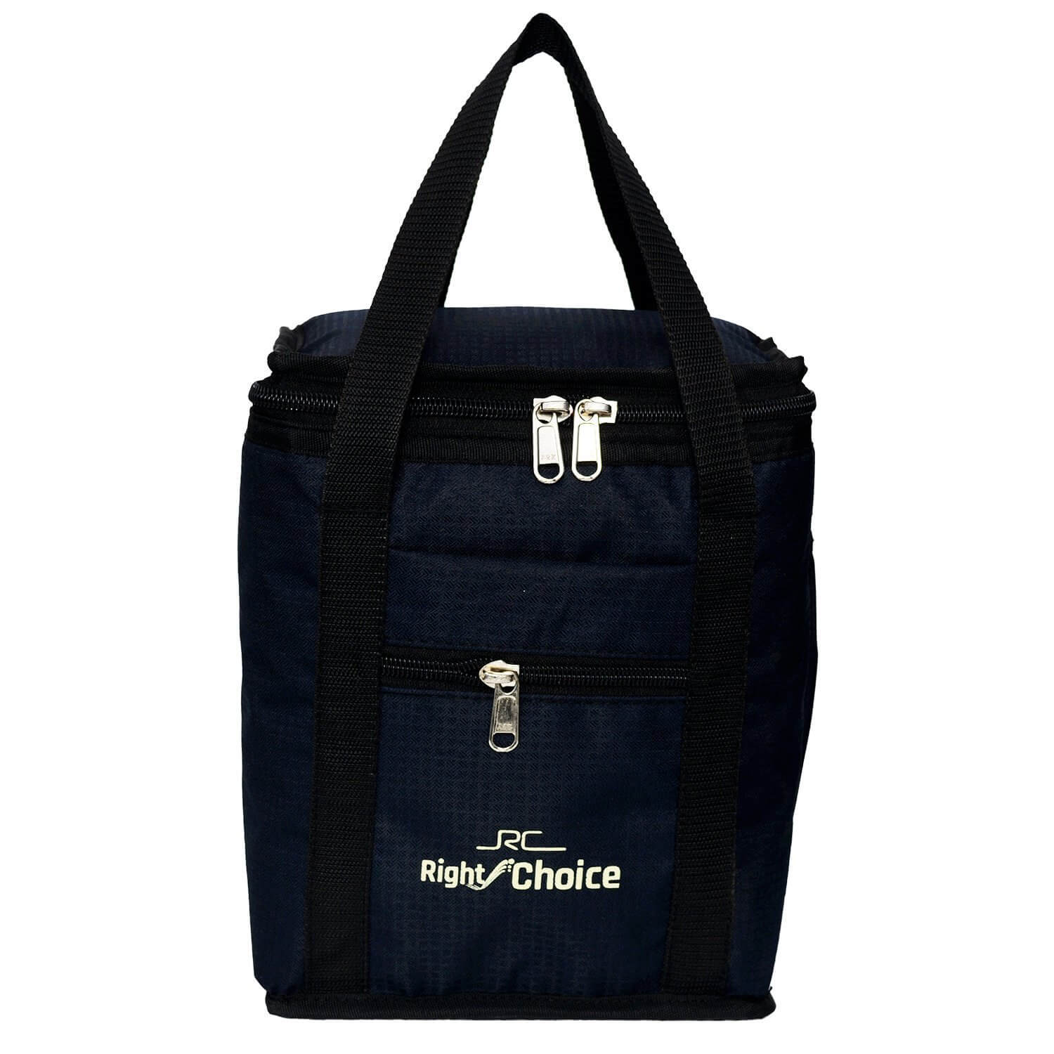Right Choice Lunch Bag  (Blue, Black, 1 L)