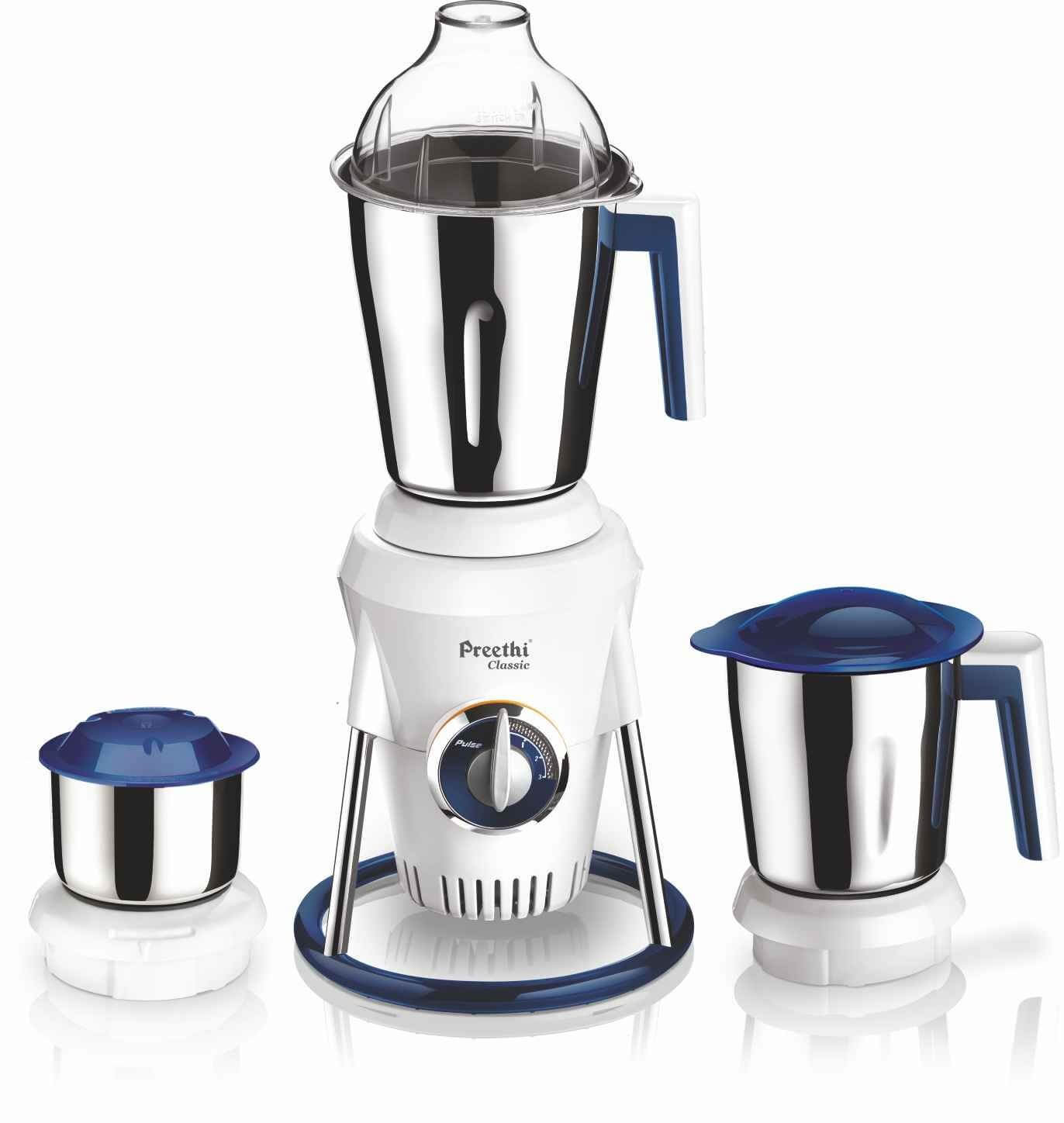 Preethi Classic MG 207 600 Watt Mixer Grinder with DC Motor