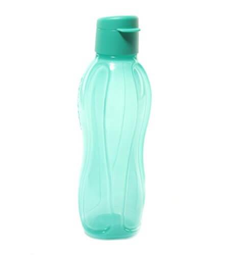 Tupperware Fliptop Bottle 750 Ml ,Green