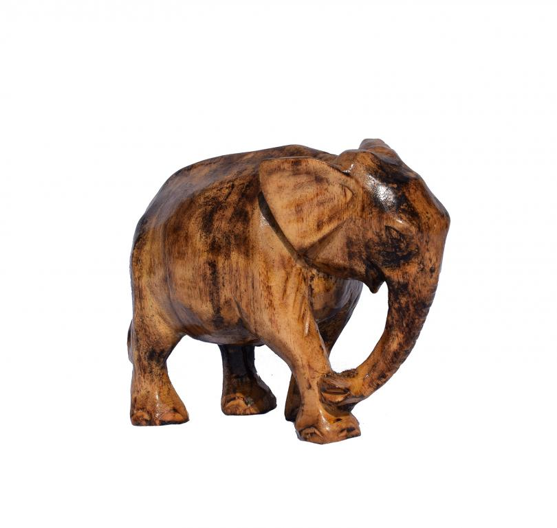 Wooden Elephant(#251)-gallery-1