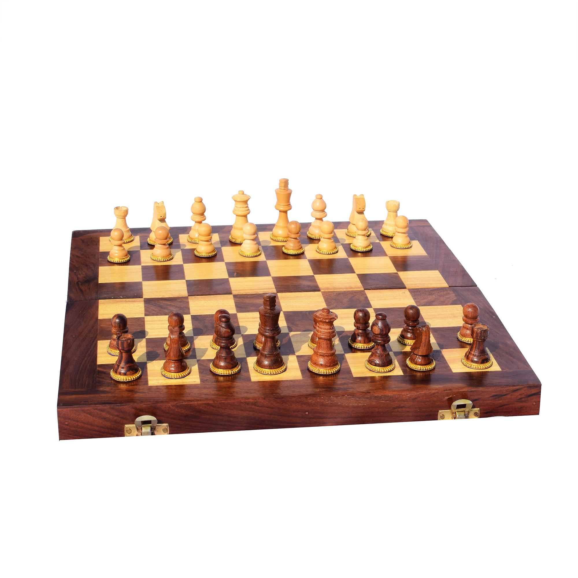 Wooden Chess Set(#253)-gallery-1