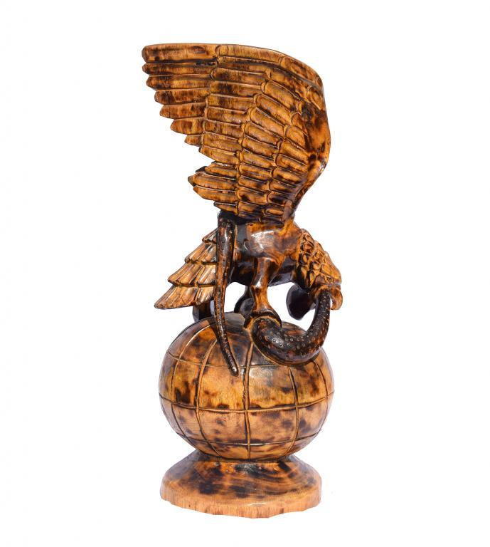 Feng Shui Wooden Eagle(#260)-gallery-0
