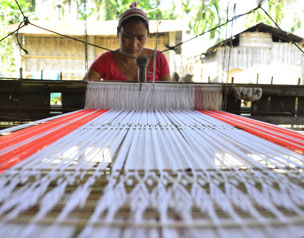 Traditional handloom shopping