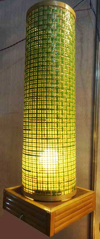Bamboo Net Coloured Lamp(#118)-gallery-3