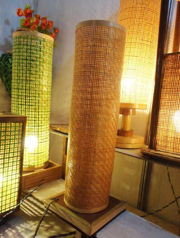 Bamboo Net Lamp(#119)-gallery-1