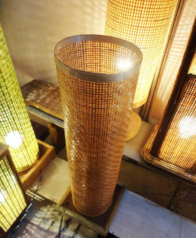 Bamboo Net Lamp(#119)-gallery-0