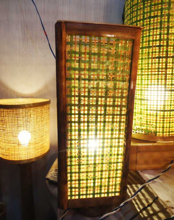 Square Net Table Lamp(#121)-gallery-1