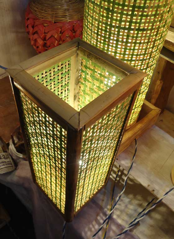 Square Net Table Lamp(#121)-gallery-2