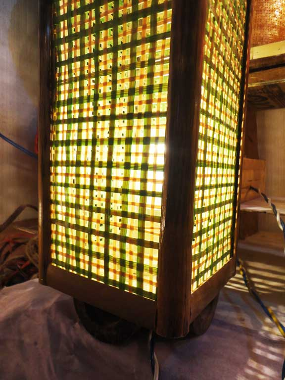 Square Net Table Lamp(#121)-gallery-3