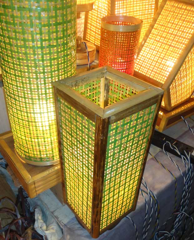 Square Net Table Lamp(#121)-gallery-4