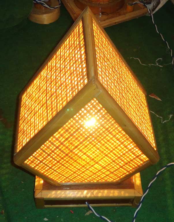 Pentagonal Net Lamp(#124)-gallery-3