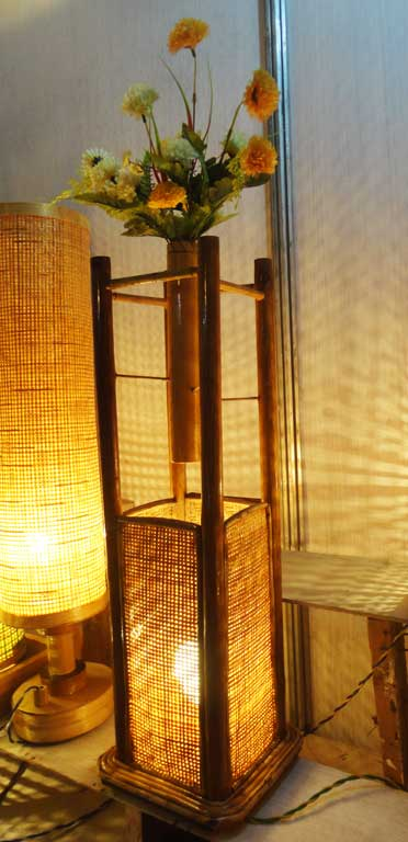 Square Lamp Flower Pot(#128)-gallery-0