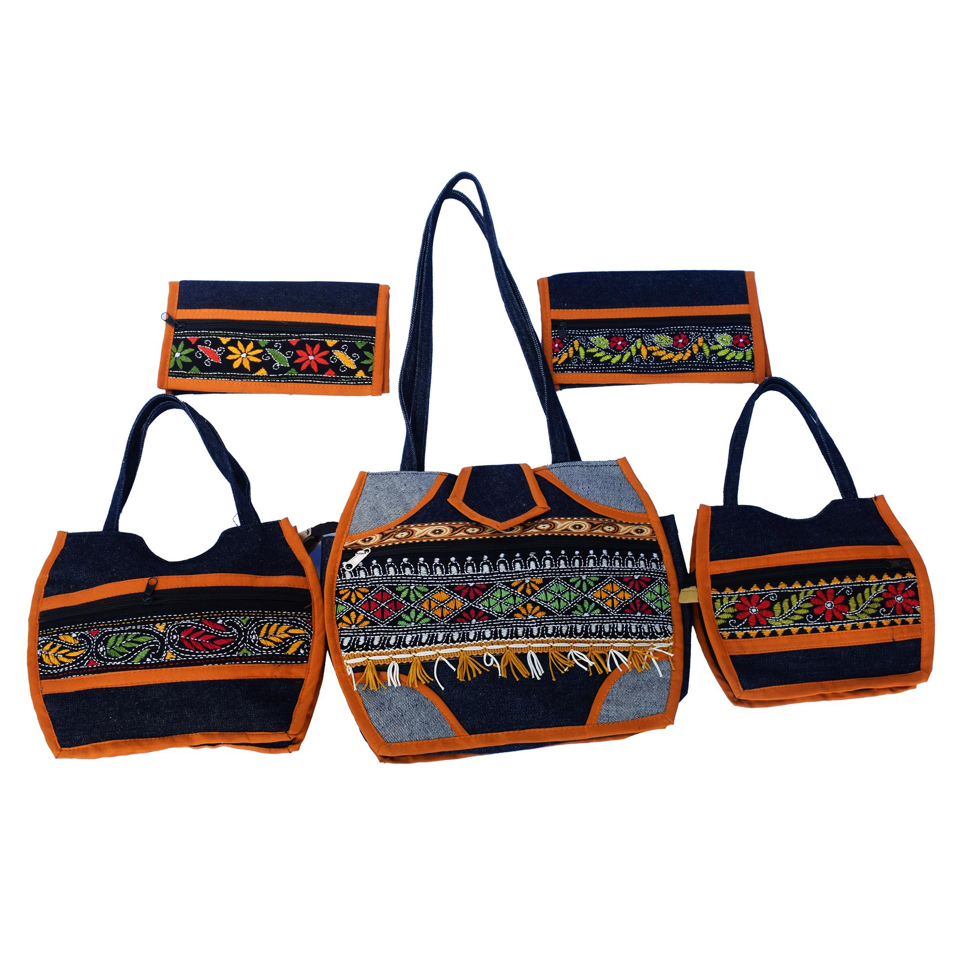 Jute Handbag Set(#239)-gallery-0